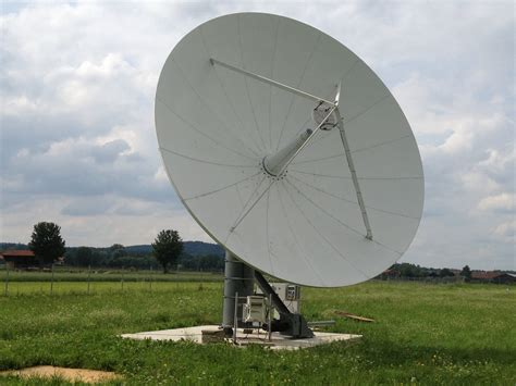 Installation of a refurbished Viasat 7.3m Ku-band Earth ...