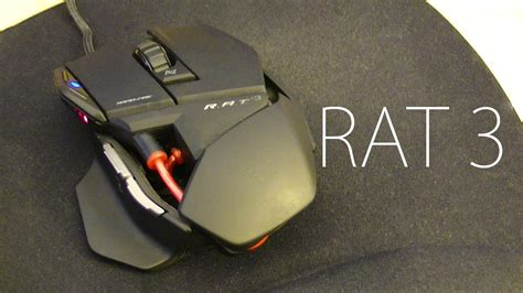 Review Mad Catz Rat 3 Gaming Mouse Hd Youtube