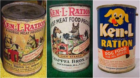 dog horse meat ken dry cans indie own inthevintagekitchen century