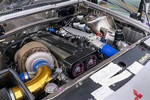 1987 Mitsubishi Starion With A Turbo 1jz Inline