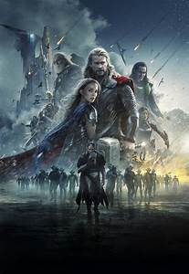 Thor: The Dark World [Hi-Res Textless Poster] by ...