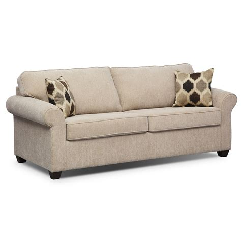 sleeper sofa fletcher memory foam sleeper sofa beige