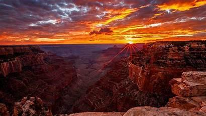 Canyon Grand Wallpapers Natur Erde Schlucht Sonnenaufgang