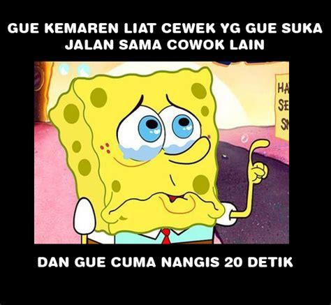 Meme Spongebob Lucu - gambar meme lucu spongebob galau gambar lucu terbaru