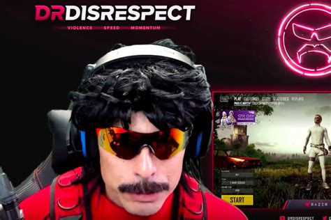 Twitch Streamer Dr Disrespect
