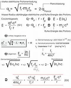 Elementarladung Berechnen : proton elementark rpertheorie 1986 2006 2012 2013 dirk freyling ~ Themetempest.com Abrechnung