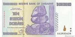 10 Billions Dollars ZIMBABWE 2008 P.85 AU b97_0768 Banknotes