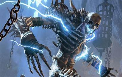 Elder Scrolls 4k Colossus Bone Legends Wallpapers