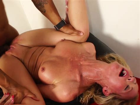Hot 4 Milf Sexy Blonde Milf Stripper Has Interracial Sex