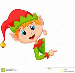 Free Christmas Elf Clipart - ClipartXtras