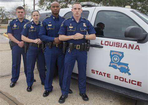 join ranks  state police troop  news houma