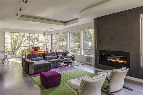 Exquisit Moderne Wohnstube Cool Californian Home Offers Exquisite Views And Serenity