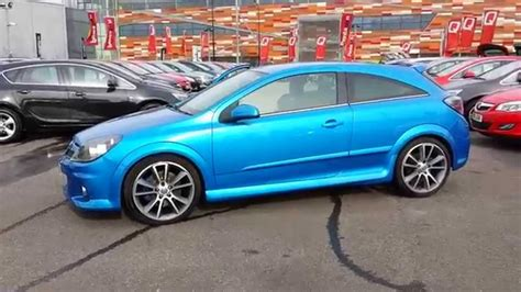 vauxhall blue 2008 58 vauxhall astra vxr in arden blue youtube