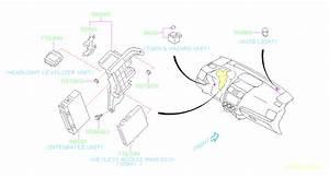 86111aj001 - Turn  U0026 Hazard Unit  Electrical  Panel  Instrument  Body