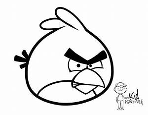 Angry Birds Red Coloring Pages - AZ Coloring Pages