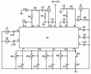 tone control With amplifier with tone controls and soft switching