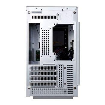 silverstone silver sg sff matx tower aluminium pc case ln sst sg  scan uk