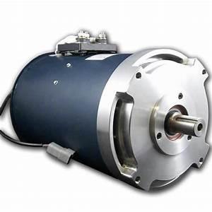 Curtis 1238-6501 Hpevs Ac-12 Brushless Ac Motor Kit - 72 Volt  Ev West
