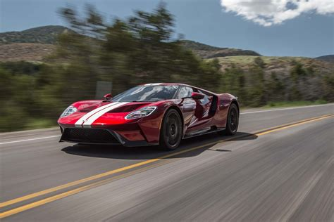 The New Ford Gt 2017 by 2017 Ford Gt Drive Review The Right Stuff