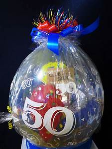 Geschenk 50 Geburtstag Frau : abgehobene geschenke ballons und ballondekorationen ~ Jslefanu.com Haus und Dekorationen