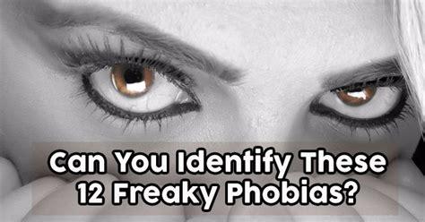 identify   freaky phobias quizpug