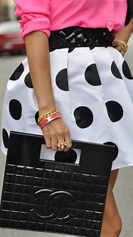 Chanel & Polka Dots Lookbook - Red Soles and Red Wine