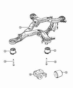 Jeep Grand Cherokee Cradle Rear Suspension