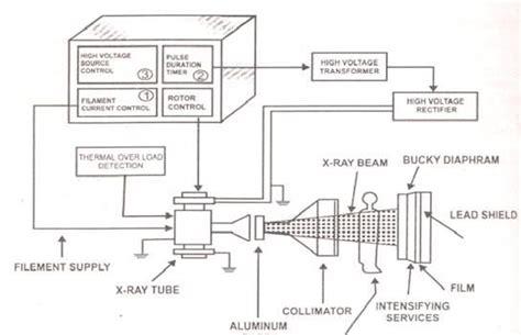 Rays Ray Block Diagram Radiologic Technology