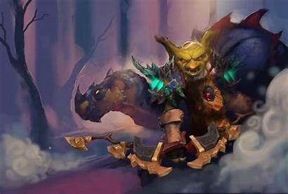 Goblin Warcraft Fantasy Artwork Desktop Wallpapers Background