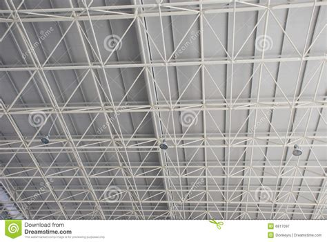 steel beam  truss stock image image  supporting