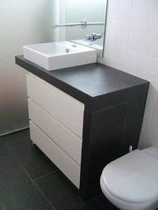 Vasque Ikea Kleine Bder Stauraum Badmbel Foto Inter Ikea