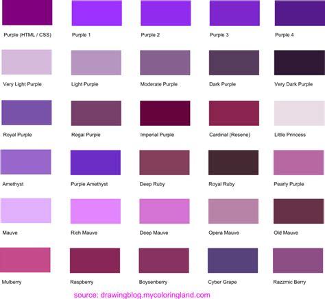 dark purple l shade purple names gallery