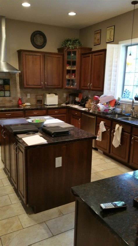 kitchen style trends accent color kitchen island    kitchens