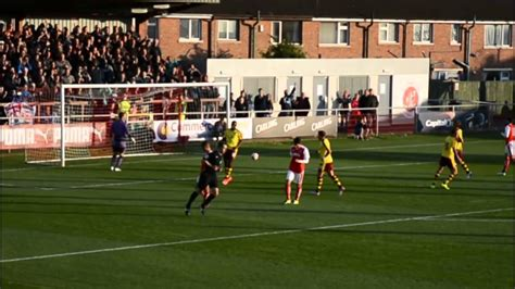 Marvin Sordell penalty v Fleetwood Town - YouTube
