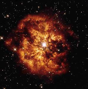 Hubble's Fireball   Astronomy News