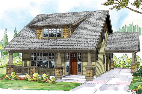 Bungalow House Plans  Greenwood 70001  Associated Designs