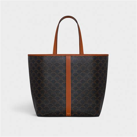 hedi slimane releases   bag collection  celine featuring  archival triomphe monogram