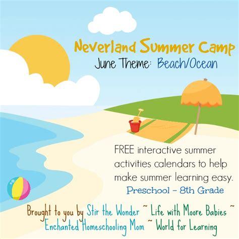 summer theme lesson plans for preschoolers neverland summer camp for preschool amp kindergarten june 282