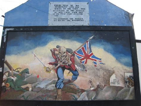 protestant mural derry photo