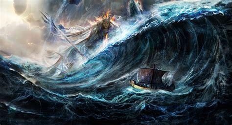 Poseidon 4k Ultra Hd Wallpaper