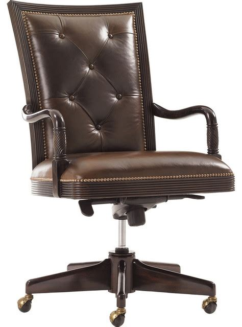 halton house callahan executive desk chair in rich