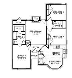 1000+ Images About 01200 Sq Ft 3 Bd 2 Ba On Pinterest