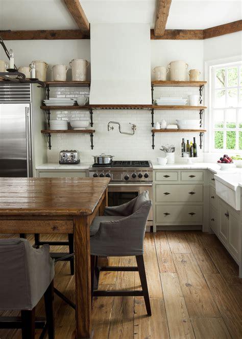 Open Farmhouse Kitchen Cabinets