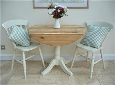 small drop leaf shabby chic kitchen table   chairs