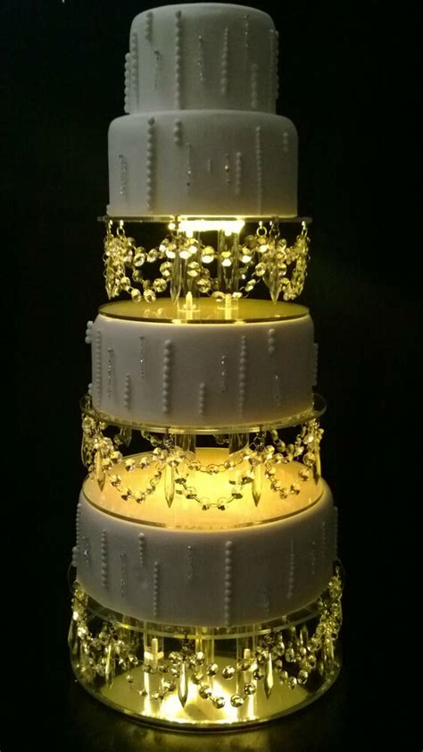 crystal drape design wedding cake stands ebay