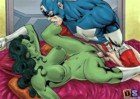 Captain America Avengers Sex She Hulk Porn Gallery