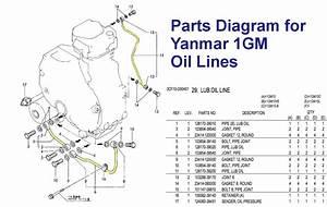 Fixing Oil Lines Yanmar 1gm10