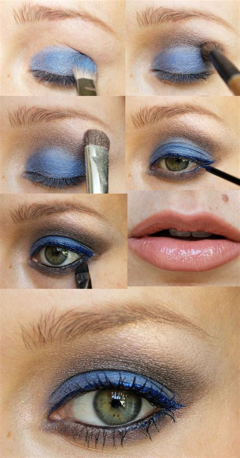 holiday party makeup  blue christmas citizens