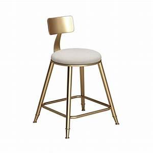 Tabouret De Bar Fer : chaises de bar minimalistes nordiques dessert shop chaises de restaurant de caf tabourets ~ Dallasstarsshop.com Idées de Décoration