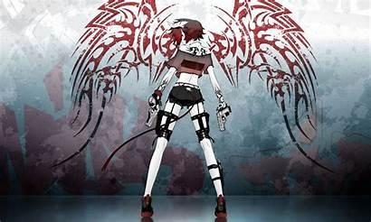 Demon Anime Wings Devil Female Wallpapers Demons